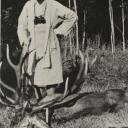 On a hunting expedition in East Prussia in 1935.